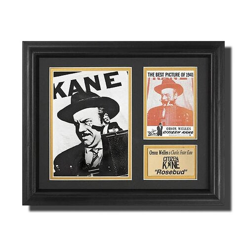 Legendary Art 'Citizen Kane' Movie Framed Memorabilia