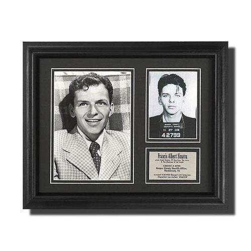 Legendary Art Frank Sinatra Framed Memorabilia