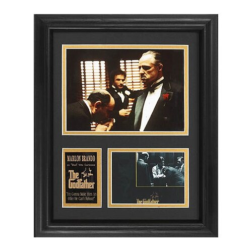 Legendary Art Tall 'The Godfather' Movie Framed Memorabilia