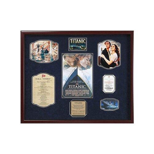 'Titanic' Framed Memorabilia