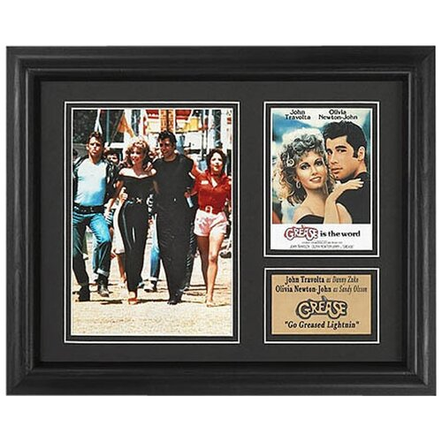 Legendary Art 'Grease' Movie Framed Memorabilia