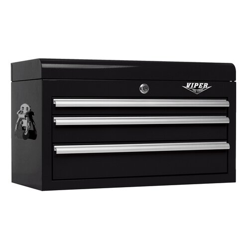 "Viper Tool Storage 26"" Wide 3 Drawer Top Cabinet"