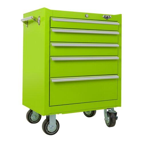 "Viper Tool Storage 26"" Wide 5 Drawer Bottom Cabinet"