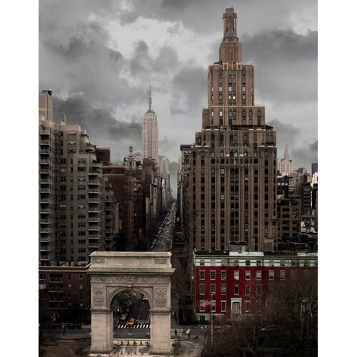 Architecture Washington Squared by Jordan Carlyle Photographic Print