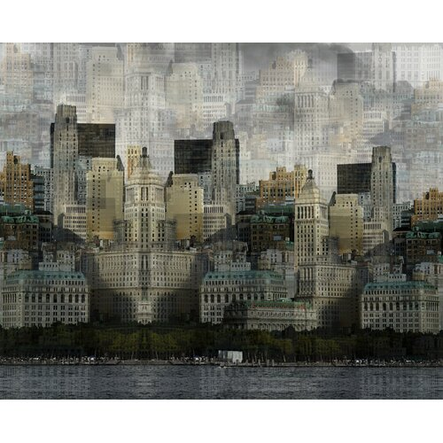 Carlyle Fine Art Architecture Hidden City by Jordan Carlyle Graphic Art
