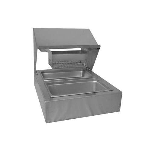 """PVIFS 25.5"""" Countertop Bread and Batter Station"""