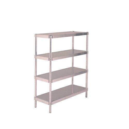 PVIFS Complete 4 Shelf Shelving Unit Starter
