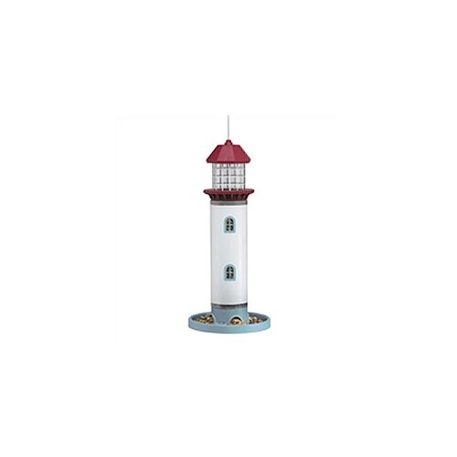 Pet Zone Lighthouse Seed Decorative Bird Feeder