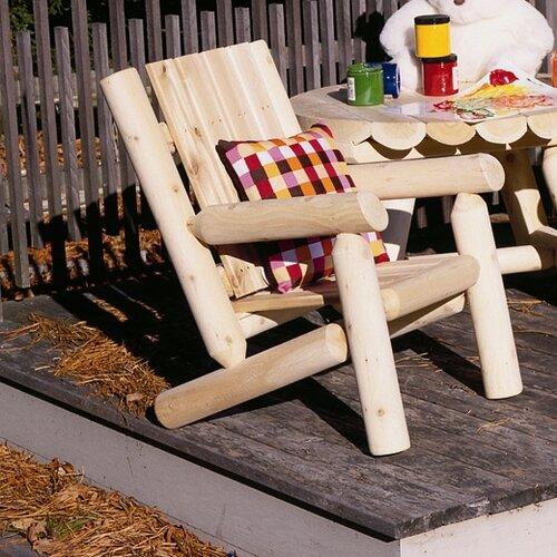 Rustic Natural Cedar Furniture Adirondack Junior Chair