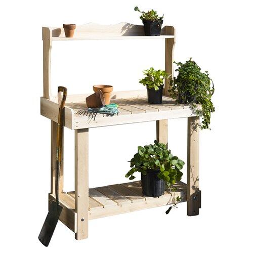 Cedar Round Log Dining Table Real Wood And 50 Similar Items: Rustic Cedar Cedar Potting Bench Planter & Reviews