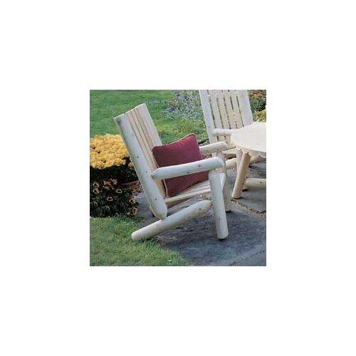 Rustic Natural Cedar Furniture High Back Lounge Armchair