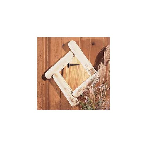Rustic Natural Cedar Furniture Log Frontier Mirror