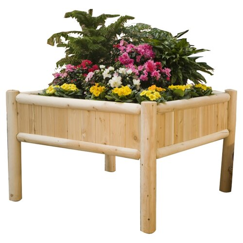 4' x 4' Square Raised Garden Planter