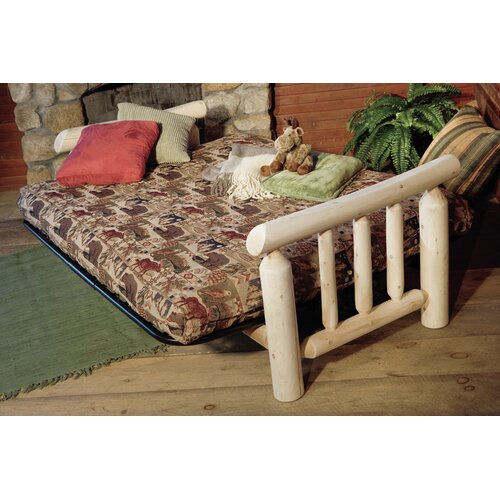 Rustic Natural Cedar Furniture Log Futon Frame
