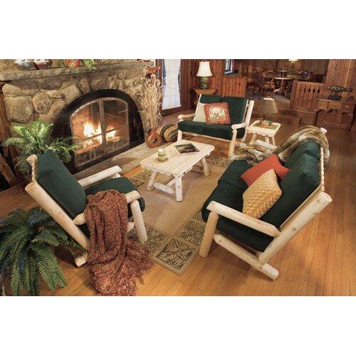 Rustic Natural Cedar Furniture Living Room Sofa