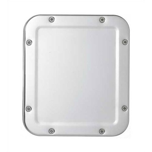 Front Mounting Corner Framed Security Wall Mirror