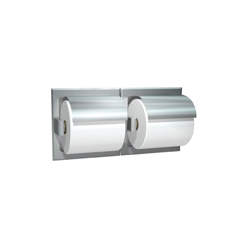 American Specialties Surface Mounted Double Toilet Paper Dispenser