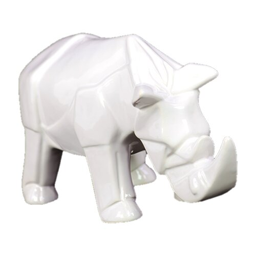 Urban Trends Ceramic Rhino