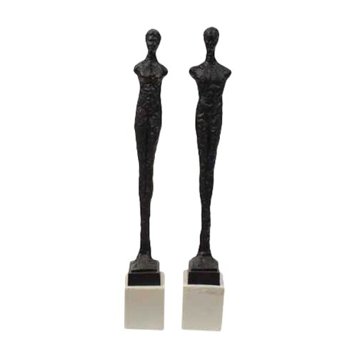 Urban Trends 2 Piece Statues Set