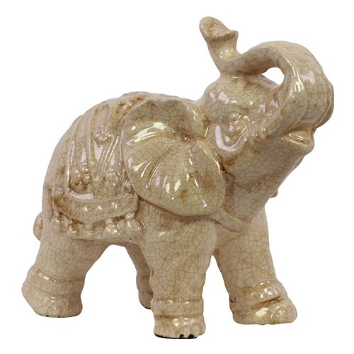 Urban Trends Ceramic Elephant