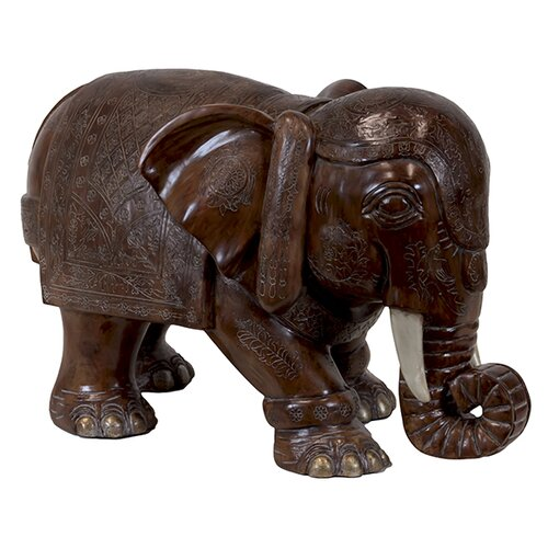 Urban Trends Resin Elephant