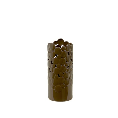 Urban Trends Ceramic Vase Cut Design