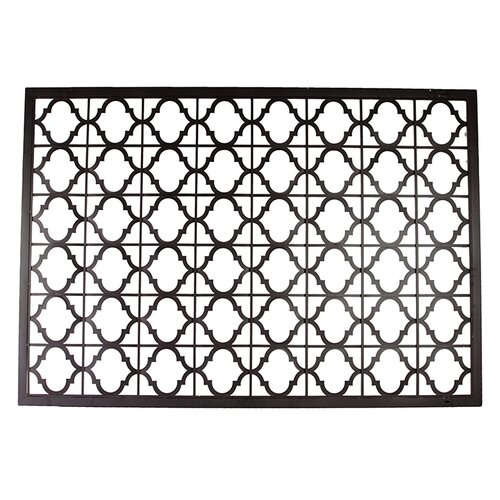 Urban Trends Home and Garden Accents Metal Plaque Wall Décor