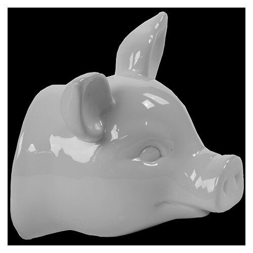 Ceramic Pig Head Wall De´cor