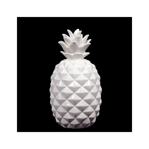 Small Ceramic Pineapple Figurine