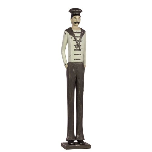 Urban Trends Resin Standing Male Sailor