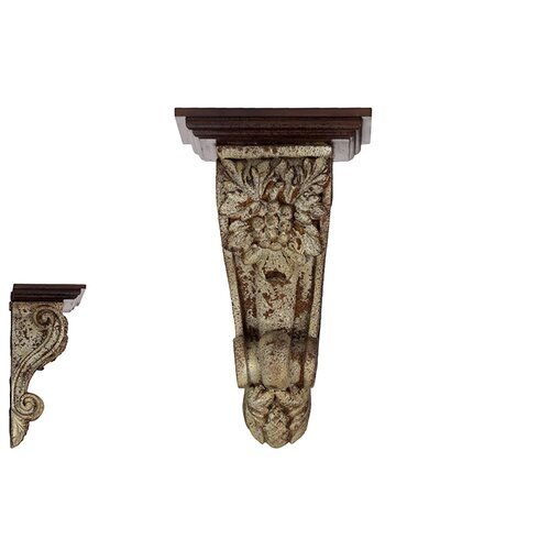 Urban Trends Resin Corbel