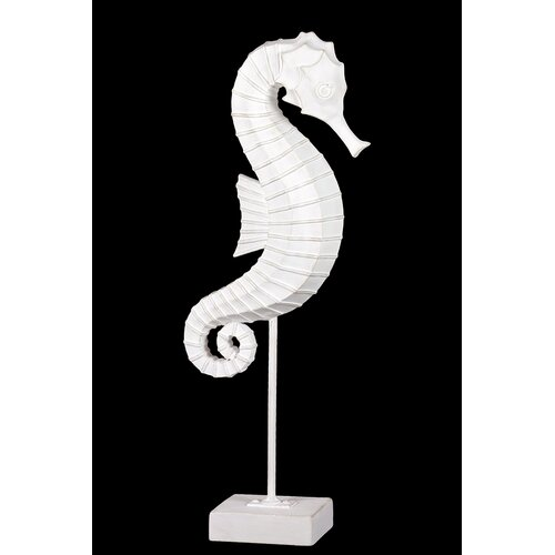 Urban Trends Resin Seahorse on Stand Statue