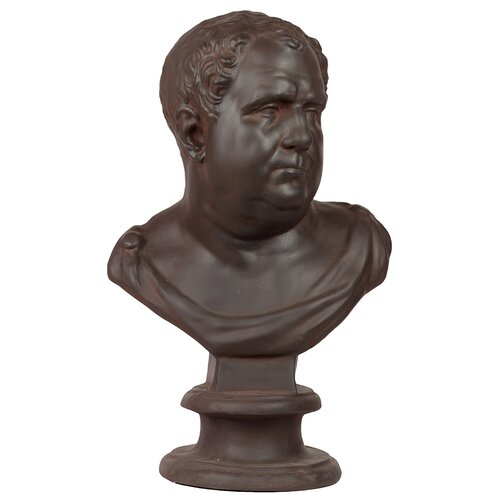 Fiberstone Man Bust