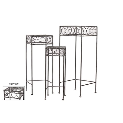 Urban Trends Metal Table Set of Three