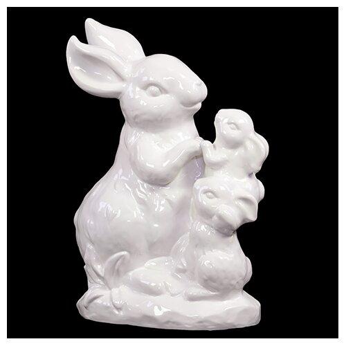 Ceramic Rabbit Decor