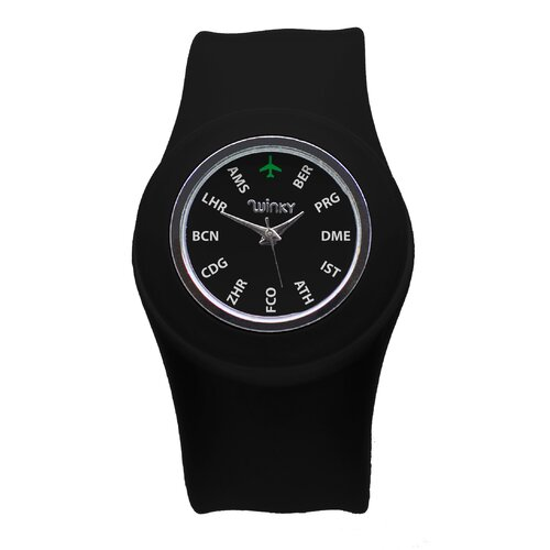 Jetsetter Series Unisex Europe Slap Watch
