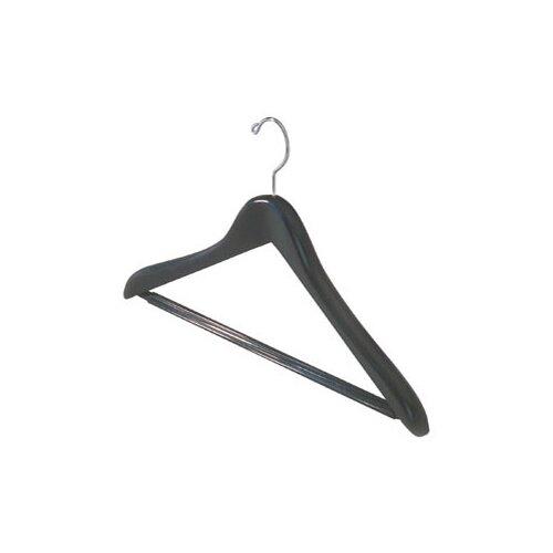 Wood Ribbed Bar Suit Hanger