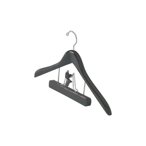 Wood Trouser Clamp Suit Hanger