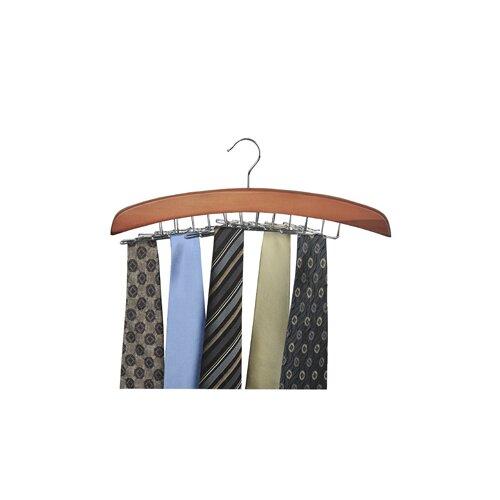 Richards Homewares Wood Hanger - 24 Ties