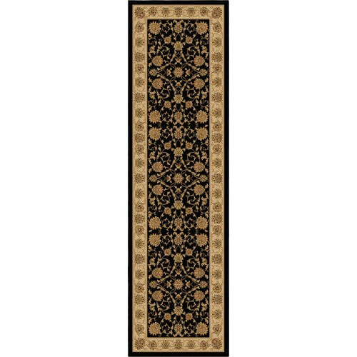 American Heirloom Westbury Black Rug