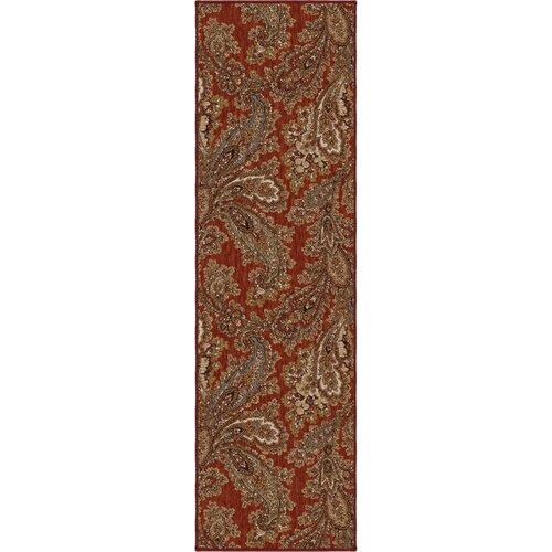 Orian Rugs Inc. Harmony Cinnabar Corina Paisley Rug