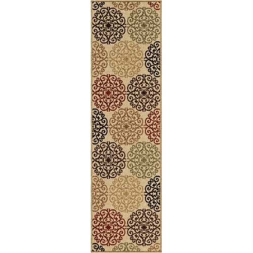 Four Seasons Bisque Catalina Indoor/Outdoor Rug