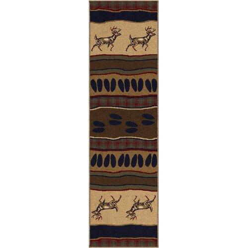 Orian Rugs Inc. Oxford Whitetail Rug