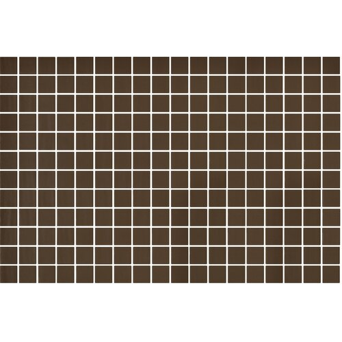 "Onix USA Nature Glass 1"" x 1"" Mosaic in Brown"