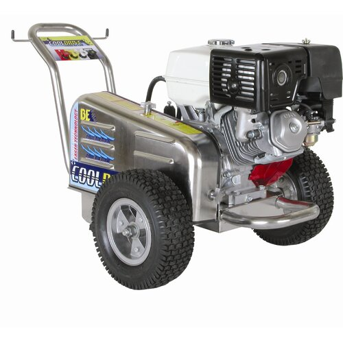 BE Pressure X-Stream 4000 PSI 3.5 GPM SS Belt Drive Cold Water Pressure Washer