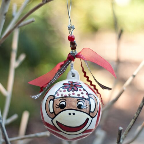 Monkey Ball Ornament