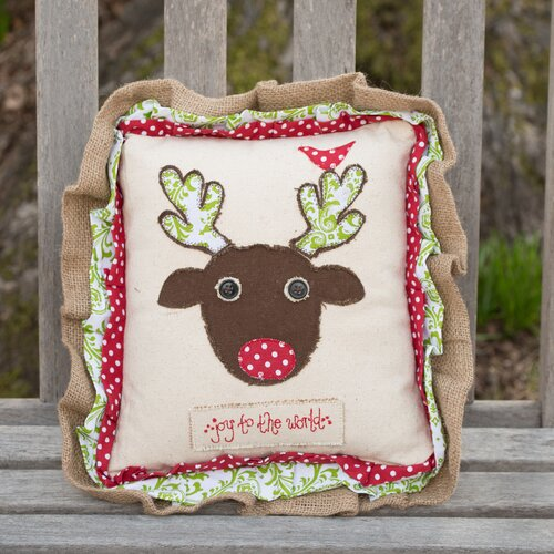Glory Haus Reindeer Pillow