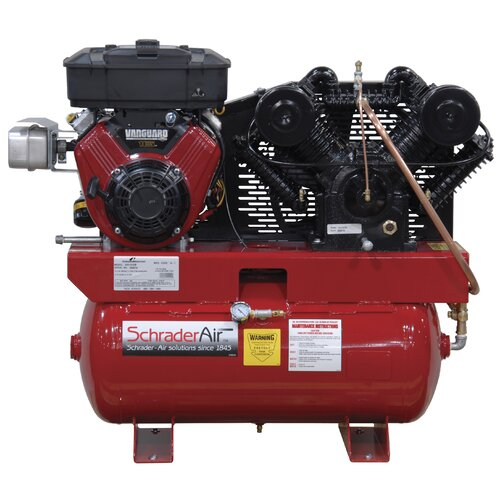 Schrader International Compressor For The Service Industry Gas Powered Air Compressor