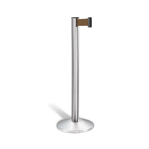 Lavi Industries Beltrac 7.5 Ft. Retracable Alumnium Belt Stanchion