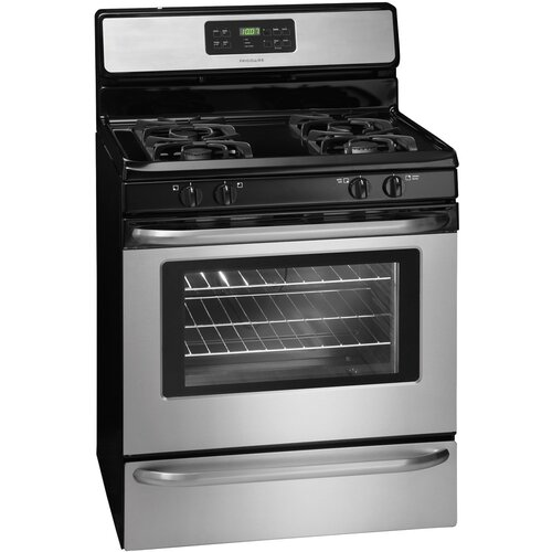 Frigidaire frigidaire gas free standing stove amp reviews wayfair